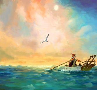 老人与海的读后感