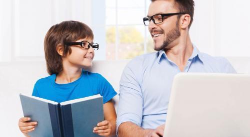 关于教育孩子的小故事:先就事论事,再进一步引申出主题